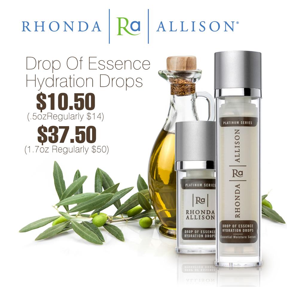 Rhonda Allison Drop of Essence Hydration Drops (SWINA Product of the Week)