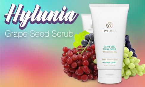 Hylunia - Grape Seed Exfoliation Scrub (SWINA Product of the Week)