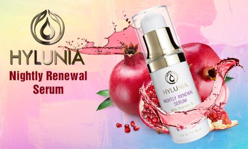 Hylunia - Nightly Renewal Serum (SWINA Product of the Week)